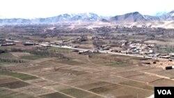 Afghan land