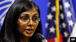 Asisten Menteri Luar Negeri Amerika, Nisha Biswal melakukan lawatan ke Sri Lanka Selasa 3/2 (foto: dok).