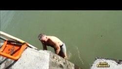 На Водохреща у Чикаго стрибали в ополонку