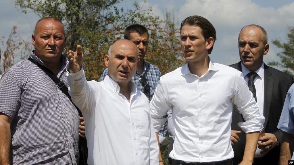 Maqedoni: Kreu i OSBE-së viziton kufirin me Greqinë