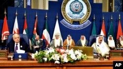Penutupan KTT Liga Arab ke-25 di Kuwait City, Rabu (26/3).