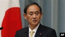 Menteri Yoshihide Suga (Foto: dok).
