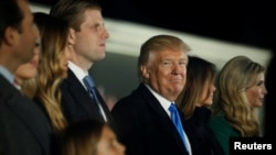 Donald Trump da iyalansa