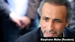 L'islamologue Tariq Ramadan à Nantes, France, le 25 avril 2010.
