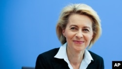 اورسولا وُندرلین وزیر دفاع آلمان