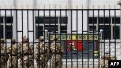Китайські військовослужбовці у Тибеті