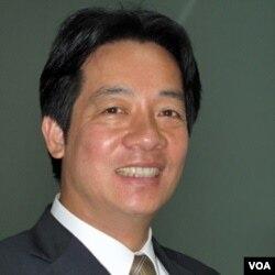 台南市长赖清德 (美国之音记者申华 拍摄)