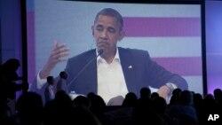 El presidente Obama reclamó un cambio democrático en Cuba y el respeto de los derechos fundamentales.