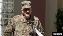 "U.S. Army General John Nicholson, Commander of Resolute Support forces and U.S. forces in Afghanistan, travels to Pakistan's North Waziristan border district that until recently was condemned as the ""epicenter"" of global terrorism."
