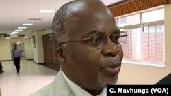 Zimbabwe Health Services Board chairperson Dr. Paulinus Sikhosana.