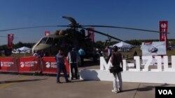 资料照:米-171SH攻击运输直升机(美国之音白桦拍摄)