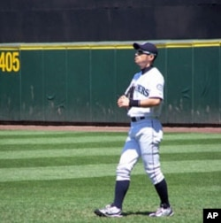 Seattle Mariners superstar Ichiro Suzuki has played baseball in America for 10 years. He speaks passable English with friends and teammates but still uses an interpreter in interview settings.