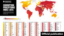 Indice de Percepção da Corrupção 2015