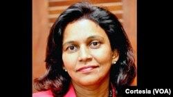 Cristina Fontes Lima, ministra-Adjunta e da Saúde de Cabo Verde
