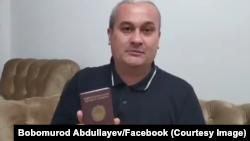 Bobomurod Abdullayev, Toshkent, 23-oktabr, 2020