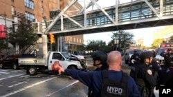 Policija na mjestu gde je u New Yorku prijavljena pucnjava