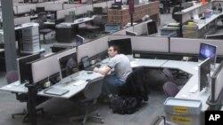 密西根大学电脑室 电脑互联网使抄袭变得容易