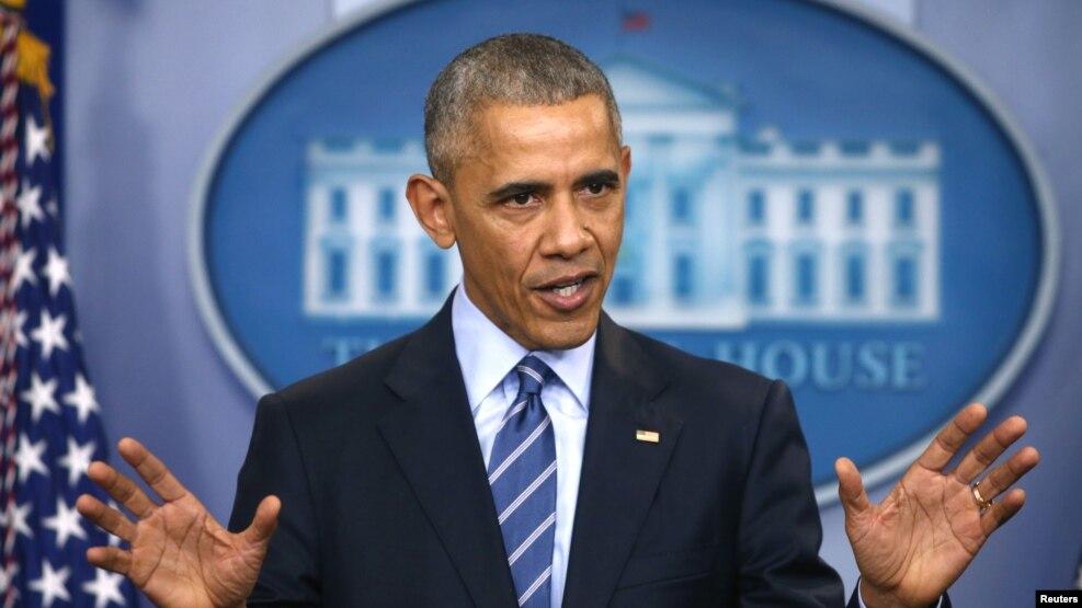 (Barack Obama, via VOA News)