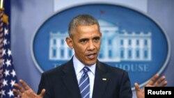 Tổng thống Barack Obama lên tiếng vụ tin tặc tìm cách can thiệp vào cuộc bầu cử của Hoa Kỳ, ngày 16/12, 2016.