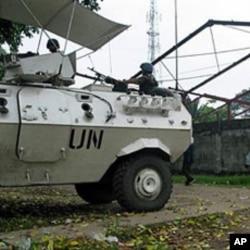 Un véhicule de la force des Nations Unis en RDC (archives)