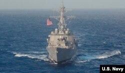 美国海军拉森号驱逐舰