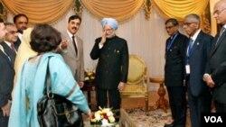 El primer ministro de India criticó el actual programa mundial de no-proliferación.