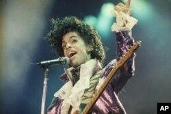 Prince en el Forum de Inglewood, California. 18 de febrero de 1985.