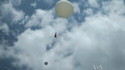 Weather Balloon Takes Flight
