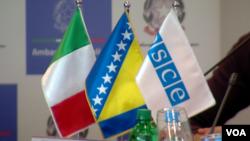 Saradnja OSCE-a i Republike Italije sa Agencijom za prevenciju korupcije u BiH