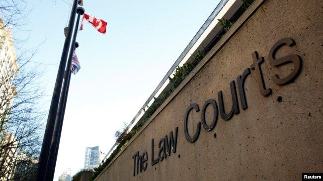加拿大一法官拒绝媒体实况转播孟晚舟引渡听证