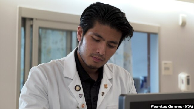 Jirayuth Latthivongskorn is a DACA recipient and a resident in training at ZSFG hospital in Calif.