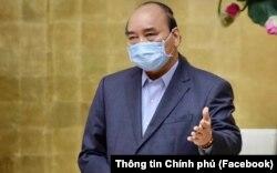 ဗီယက္နမ္ ၀န္ႀကီးခ်ဳပ္ Nguyen Xuan Phuc