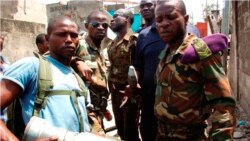 Ba soda na camp ya Mpila, na Brazzaville, le 5 mars 2012.