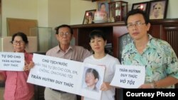 Gia đình anh Trần Huỳnh Duy Thức
