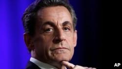 Raais wa zamani wa Ufaransa Nicolas Sarkozy.