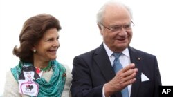 Ratu Silvia dan Raja Swedia, Carl XVI Gustaf, akan berkunjung ke Indonesia awal pekan depan (foto: ilustrasi).