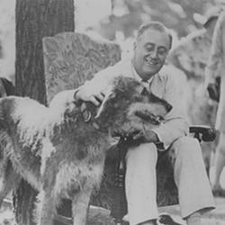 President Roosevelt in 1933