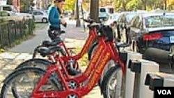 Javni bicikli u Washingtonu entuzijastički prihvaćeni i od domaćih i od posjetitelja