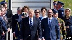 استقبال از پرزیدنت ترامپ در ایتالیا