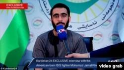 El palestino estadounidense Mohamad Jamal Khweis habla ante el canal Kurdistán24 sobre su inserción y deserción de ISIS.