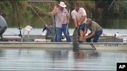 Las autoridades dieron caza al caimán y encontraron en su vientre el antebrazo del joven.