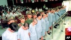 2000年法庭宣判赖昌星远华走私案的被告