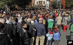 Près de 25 000 personnes sont sorties pour écouter le président Obama à Dublin