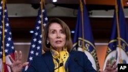 Nümayəndələr Palatasının demokrat spikeri Nensi Pelosi