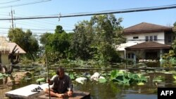 Бангкок пережив загрозу повені?