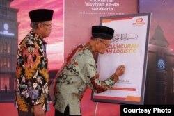 Dalam salah satu acara di Muhammadiyah, Buya Syafii tetap menjadi sesepuh panutan. (Photo: SM / Deni al Asyari)
