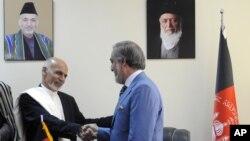 غنی و عبدالله هر کدام نصف اعضای کابینه را تعیین می کند
