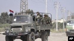 شام میں احتجاجی مظاہروں سے قبل شہروں میں فوج تعینات