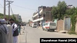 مهاجمان صبح امروز بر مدیریت معارف شهری جلالآباد حمله کردند