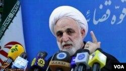 İranın baş prokuroru Qulamhüseyn Möhsüni Ejei